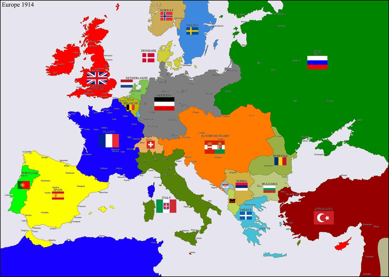 Dalla pace alla Guerra - Mezzo secolo di progresso
